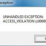 Fix Diablo 2 Unhandled Exception Access Violation c00005 Windows 10, 7