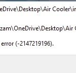 Fix The File System 2147219196 Error?
